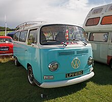 Volkswagon camper van by Keith Larby