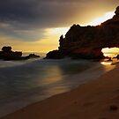 St Pauls Beach Sunset by Jim Worrall