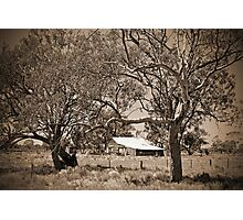 on the road to Coonamble Photographic Print
