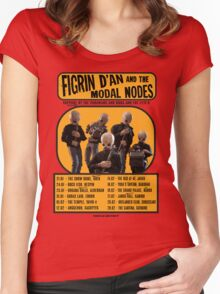 The Cantina Band Tour Poster Women's Fitted Scoop T-Shirt