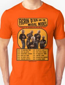 The Cantina Band Tour Poster Unisex T-Shirt