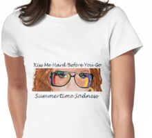 Summertime Sadness Womens Fitted T-Shirt