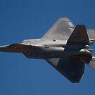 USAF F-22A Raptor by Daniel McIntosh