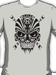 The Devil Inside - Cool Skull Vector T Shirt Design T-Shirt