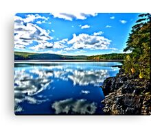 Reflections HDR Canvas Print