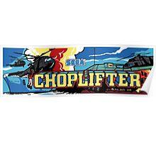 Choplifter Arcade Poster