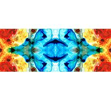 Synchronicity - Colorful Abstract Art by Sharon Cummings Photographic Print