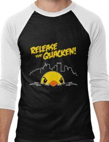 Release The Quacken Men's Baseball ¾ T-Shirt