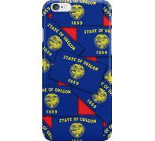 Smartphone Case - State Flag of Oregon - Multiple IV iPhone Case/Skin