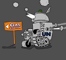 GAS LEAK.. by Chris Goodwin