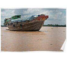 Mekong Boats 1 Poster