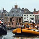 Harbour Maassluis - Netherlands by Arie Koene