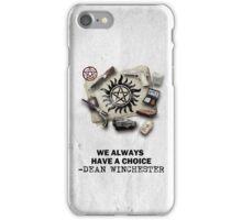 DEAN WINCHESTER'S EQUIPMENT iPhone Case/Skin