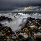 High Tide ~ Oregon Coast ~ by Charles & Patricia   Harkins ~ Picture Oregon
