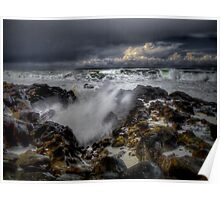 High Tide ~ Oregon Coast ~ Poster