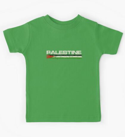 Palestine with Falg T shirts, iphone Covers and Cards Kids Tee