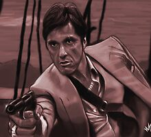 SCARFACE - Tony Montana by MelloMarrero
