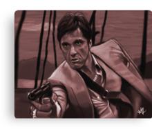 SCARFACE - Tony Montana Canvas Print