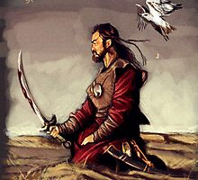 Temujin - Genghis Khan by MelloMarrero
