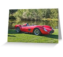 1959 Dino Ferrari 196S III Greeting Card