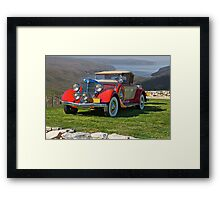 1934 Chrysler CA Roadster Framed Print