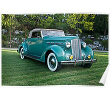 1937 Packard 120 Convertible Poster