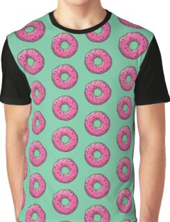 The Simpsons - Doughnut Graphic T-Shirt