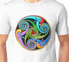 Celtic Illumination - Trinity Swirl II Unisex T-Shirt