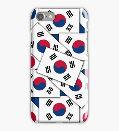 Smartphone Case - Flag of South Korea - Multiple III  iPhone Case/Skin