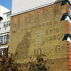 Black Cat Cigarettes, Dingley Road, London by Ghostsigns