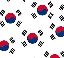Iphone Case - Flag of South Korea - III by Mark Podger