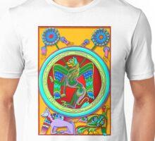 Celtic Illumination - Winged Lion Unisex T-Shirt