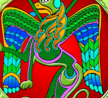 Celtic Illumination - Winged Lion Sticker