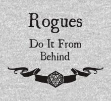Rogues do it from behind. by Serenity373737