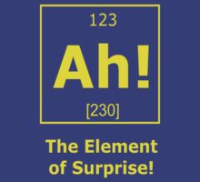 Ah! The Element of Surprise! by artvia