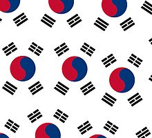 Iphone Case - Flag of South Korea - IV  by Mark Podger