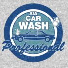 Breaking Bad Inspired - A1A Car Wash Professional - Employee Shirt - Walter White - Car Wash Staff Shirt by traciv