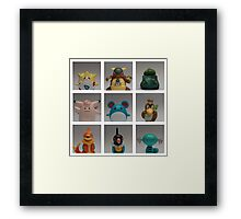 Pokemon Poster Framed Print