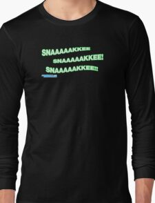 Snake! Long Sleeve T-Shirt