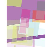 rectangular random - abstract  design Photographic Print