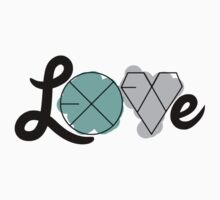 EXO LOVE (Sticker) by pinkbook