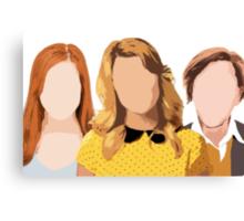 The Holy Trinity of YouTube Canvas Print