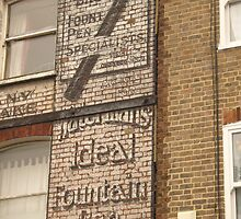 Ideal Fountain Pen, Stoke Newington, London by Ghostsigns