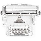 Typewriting outlines  by Photosonny