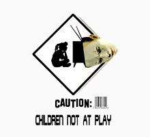 Children Not At Play. Womens Fitted T-Shirt