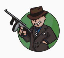 Vault Boy With a Gun! by Nick Halls