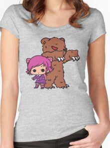 Annie and Tibbers Women's Fitted Scoop T-Shirt