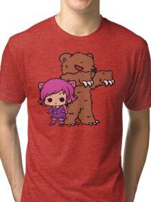 Annie and Tibbers Tri-blend T-Shirt