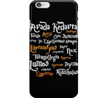 Harry Potter Avada Kedrava iPhone Case/Skin