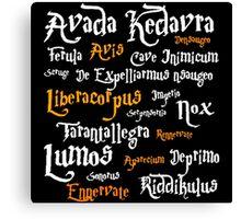 Harry Potter Avada Kedrava Canvas Print